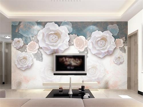 پوستر دیواری گل های رز