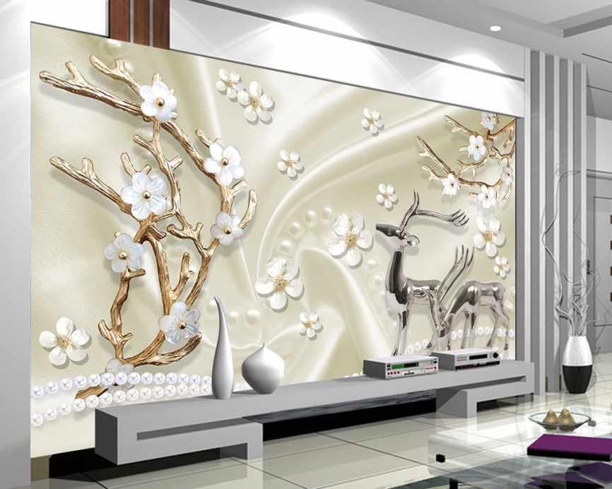 پوستر دیواری شاخه های طلایی
