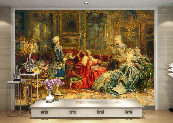 تابلو فرش نقاشی کلاسیک غربی