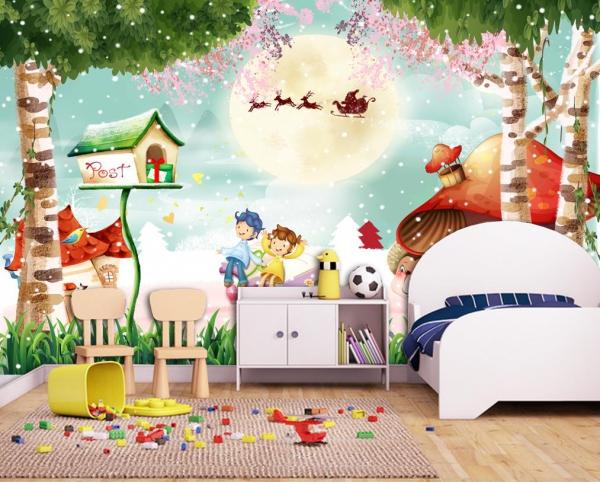 پوستر دیواری طرح کودکانه کریسمس