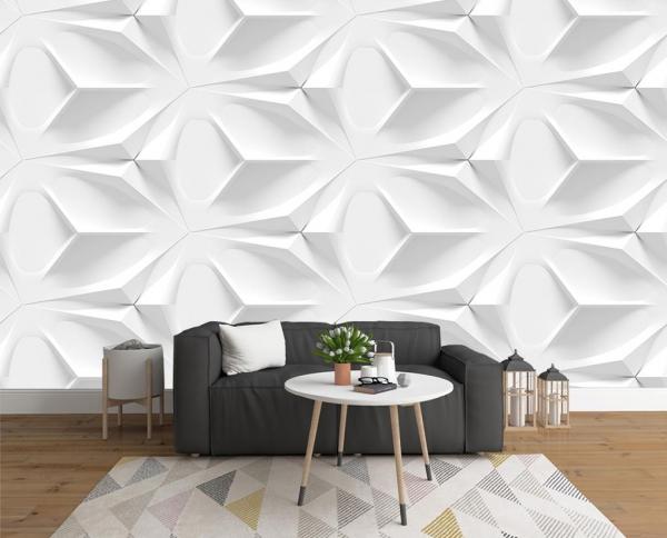پوستر دیواری سه بعدی ساده