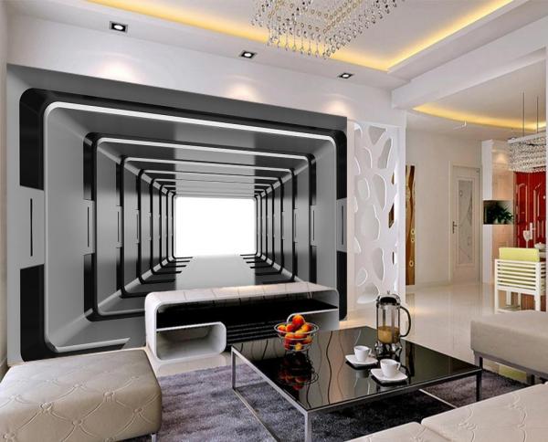 پوستر دیواری سه بعدی طرح تونل