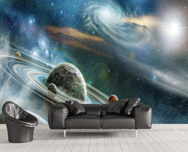 پوستر دیواری طرح زیبا از کهکشان