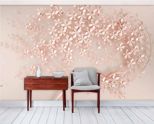 پوستر دیواری طرح درخت سه بعدی