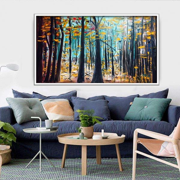 تابلو اختصاصی درختان جنگلی