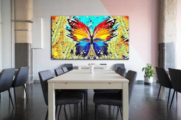تابلو اختصاصی پروانه رنگی