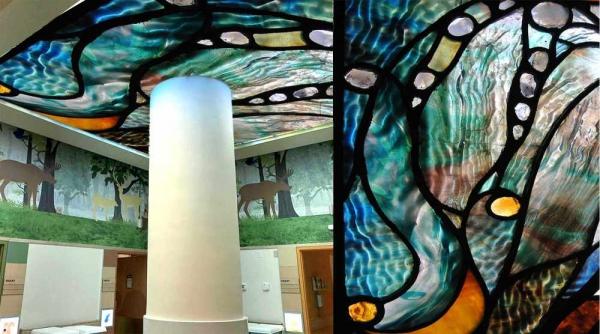 پوستر دیواری سقفی طرح هنری