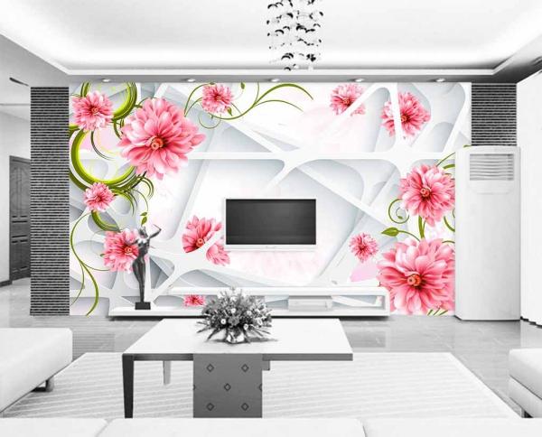 پوستر دیواری با زمینه سه بعدی