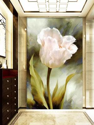 پوستر دیواری شاخه گل ایستاده