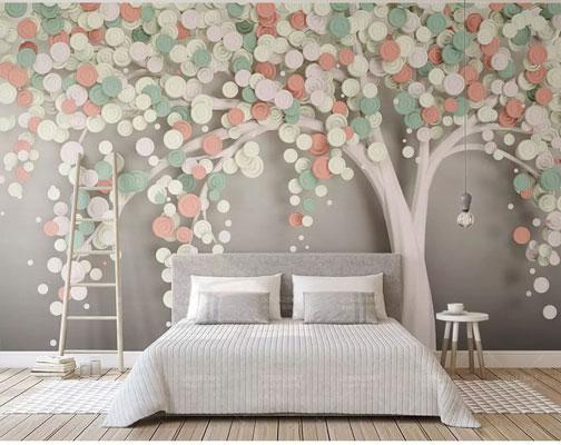 پوستر دیواری درخت هنری زیبا